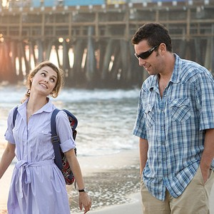 Image result for adam sandler and keri russell gif