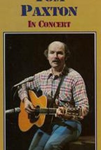 Tom Paxton in Concert