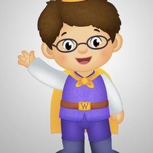 Prince Wednesday is voiced by Nicholas Kaegi
