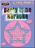 Party Tyme Karaoke - Girl Pop 2