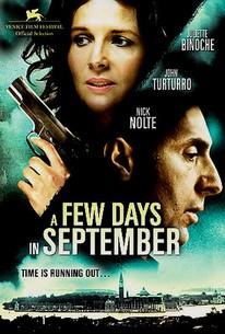 A Few Days in September (Quelques jours en septembre)
