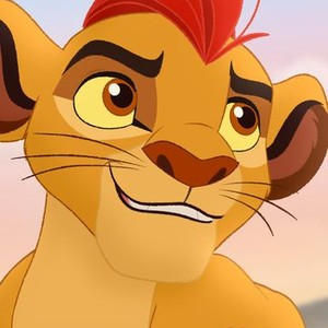 Kion is voiced by Max Charles