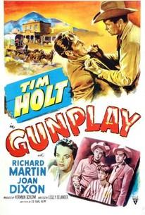 Poster for Gunplay (1951)