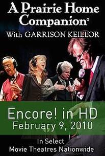 A Prairie Home Companion Live With Garrison Keillor