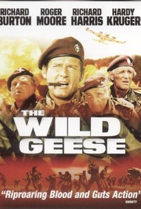 Poster for The Wild Geese (1978)