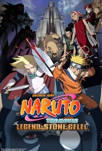 Naruto the Movie 2: Legend of the Stone of Gelel (Gekijô-ban Naruto: Daigekitotsu! Maboroshi no chitei iseki dattebayo!)