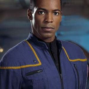 Anthony Montgomery as Ensign Travis Mayweather