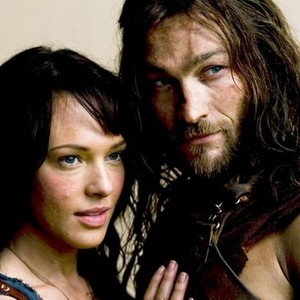 Erin Cummings and Andy Whitfield