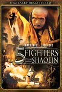 Five Fighters From Shaolin