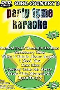 Party Tyme Karaoke - Girl Country 2
