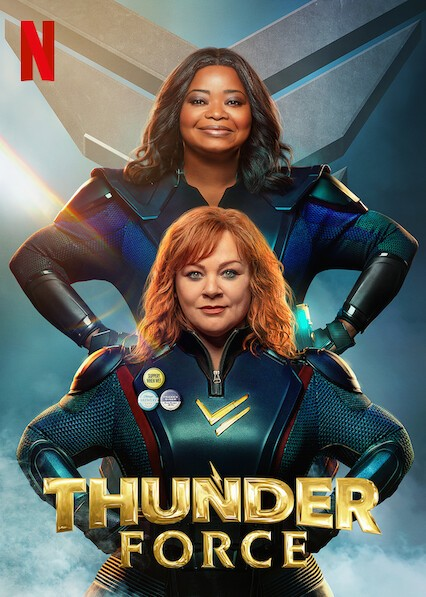 Download Netflix Thunder Force (2021) Dual Audio {Hindi-English} 480p | 720p