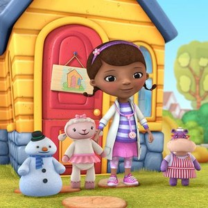 """Chilly, Lambie, Dottie """"Doc"""" McStuffins and Hallie (from left)"""