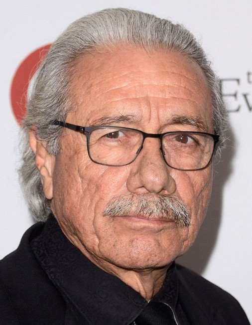 The 74-year old son of father (?) and mother(?) Edward James Olmos in 2021 photo. Edward James Olmos earned a  million dollar salary - leaving the net worth at  million in 2021