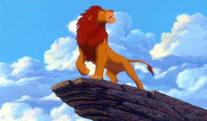 Para penghuni hutan di Afrika dipimpin oleh raja Musafa.