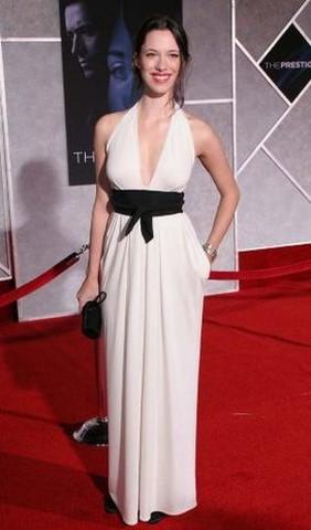 Rebecca Hall @ The Prestige premiere
