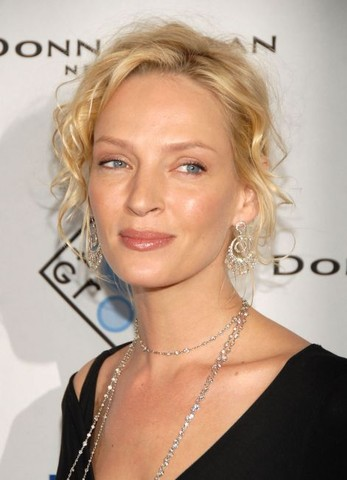 Uma Thurman Hosts Evening at Christies to Benefit Room to Grow