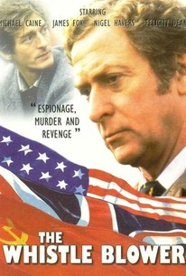 Poster for The Whistle Blower (1987)