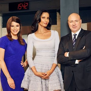 Gail Simmons, Padma Lakshmi and Tom Colicchio (from left)