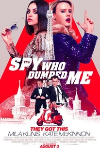 The Spy Who Dumped Me (2018) - Rotten Tomatoes