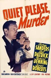Quiet Please: Murder