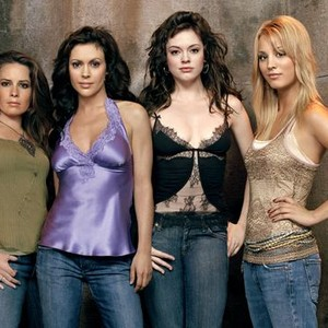 Holly Marie Combs, Alyssa Milano, Rose McGowan and Kaley Cuoco (from left)