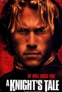 Poster for A Knight's Tale, starring Heath Ledger