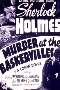 Murder at the Baskervilles (Silver Blaze)
