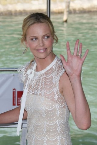 """64th Venice Film Festival - """"In The Valley of Elah"""" - Boat Arrivals"""