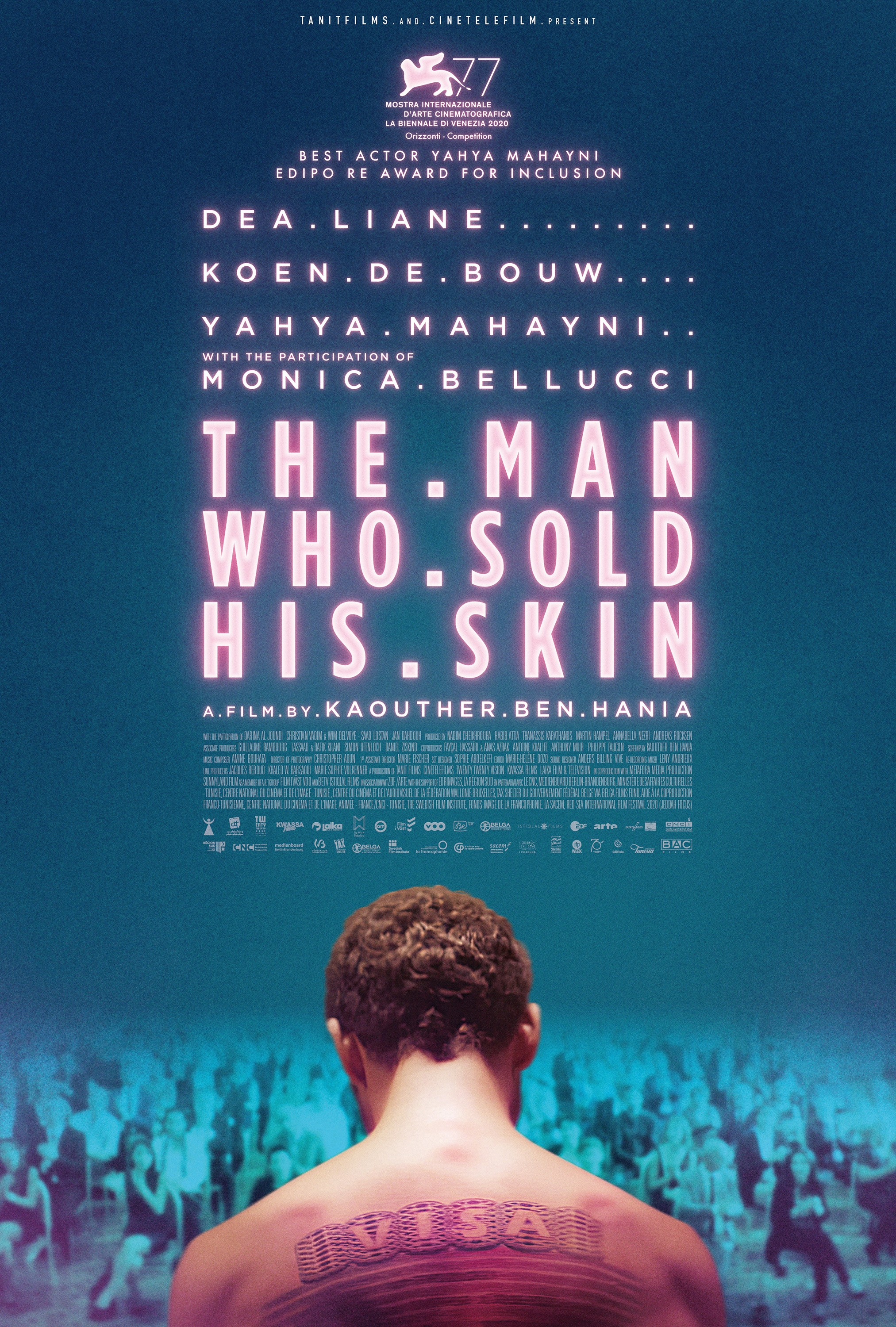 The Man Who Sold His Skin (2020) Full Movie [In English] With Hindi Subtitles | WebRip 720p [1XBET]