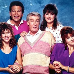 Kristy McNichol, David Leisure, Richard Mulligan, Park Overall and Dinah Manoff (from left)