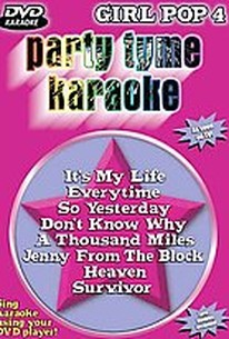 Party Tyme Karaoke - Girl Pop 4