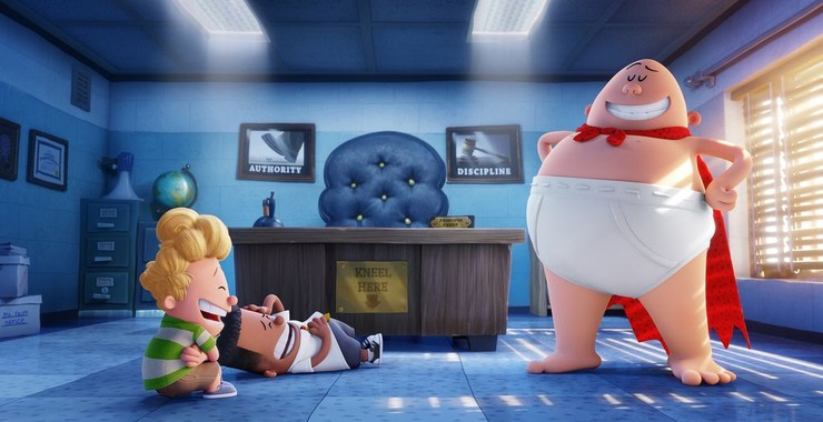 Captain Underpants The First Epic Movie Captain Underpants 2017 Rotten Tomatoes