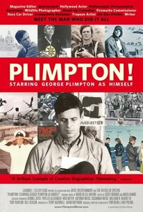Plimpton! Starring George Plimpton As Himself