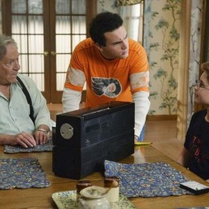 <em>The Goldbergs</em>: Season Two<br>Pictured: George Segal, Troy Gentile, Sean Giambrone