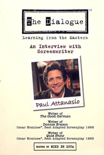 The Dialogue: Learning From the Masters - Paul Attanasio