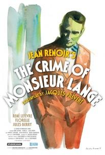 The Crime of Monsieur Lange (Le Crime de Monsieur Lange)