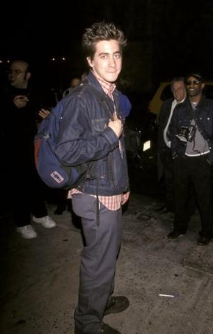"Jake Gyllenhaal and Chris Rock Sightings Outside ""Saturday Night Live"" - May 8, 1999"