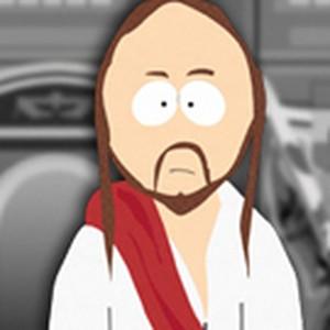 Jesus is voiced by Matt Stone