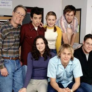 Loudon Wainwright III, Jay Baruchel, Monica Keena, Charlie Hunnam (top row, from left); Carla Gallo, Timm Sharp and Seth Rogan (bottom row, from left)