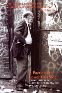 A Poet on the Lower East Side: A Docudiary on Allen Ginsberg