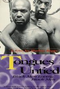 Tongues Untied - The Black Gay Male Experience