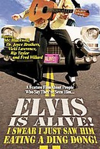 Elvis is Alive! I Swear I Just Saw Him Eating a Ding Dong!
