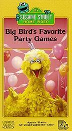 Sesame Street - Big Bird's Favorite Party Games