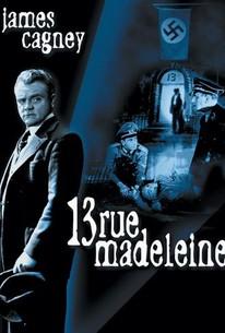 Poster for 13 Rue Madeleine (1946)