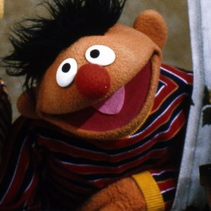 Ernie is voiced by Steve Whitmire