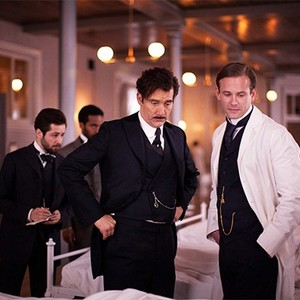 Michael Angarano, Andre Holland, Clive Owen, and Eric Johnson in season one of <em>The Knick</em>.
