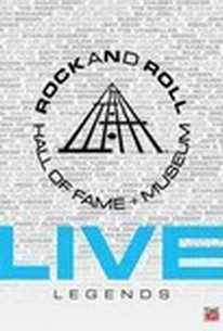 Rock and Roll Hall of Fame + Museum: Live - Legends
