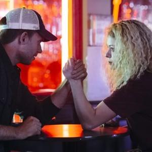Orphan Black: Season 2, Episode 6, Jesse (Patrick J. Adams) and Helena (Tatiana Maslany)