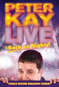 Peter Kay Live & Back on Nights