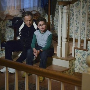 <em>The Goldbergs</em>: Season Two<br>Pictured: George Segal, Sean Giambrone
